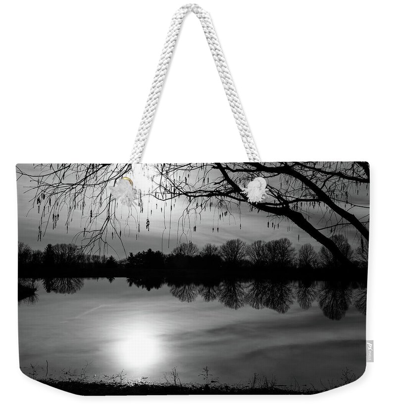 Digital Weekender Tote Bag featuring the photograph Darken by Jeff Roney