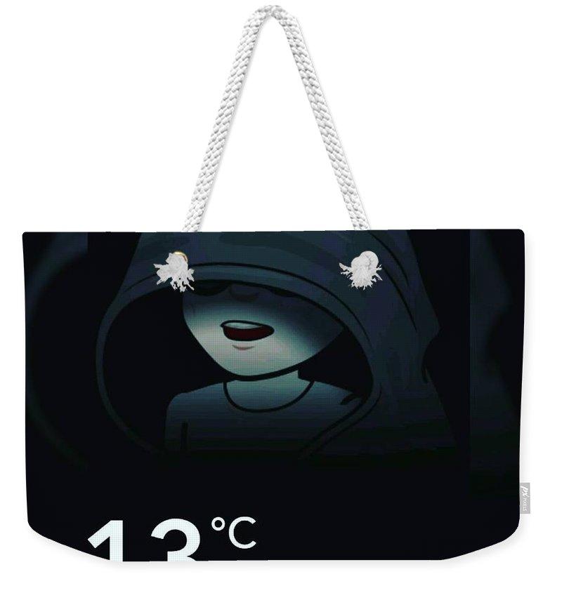 Suspense Weekender Tote Bags