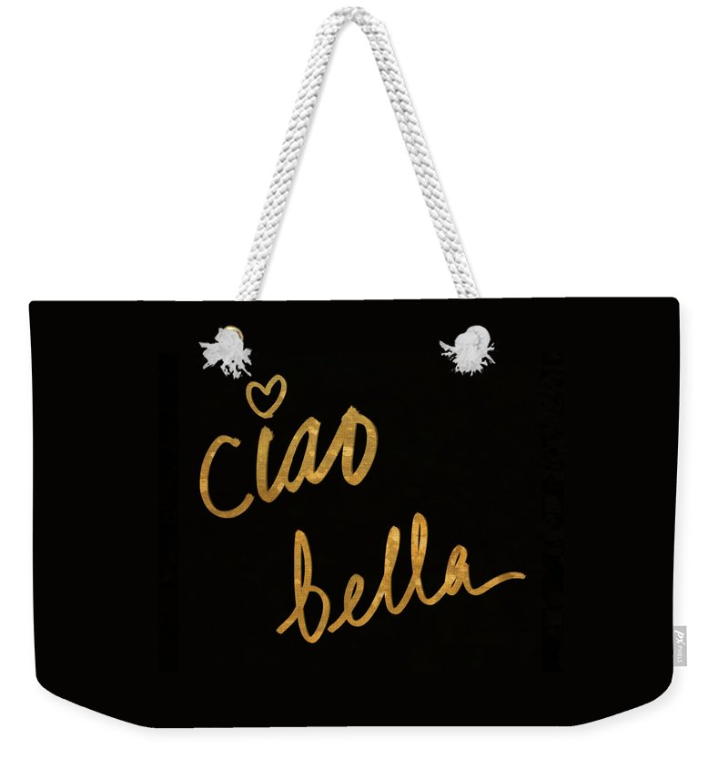 Darling Weekender Tote Bag featuring the painting Darling Bella II by South Social Studio