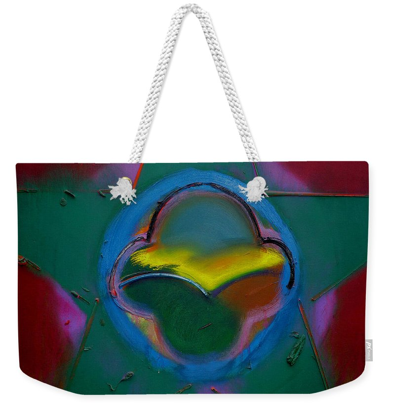 Usaaf Insignia Weekender Tote Bag featuring the painting Dawn Landscape by Charles Stuart