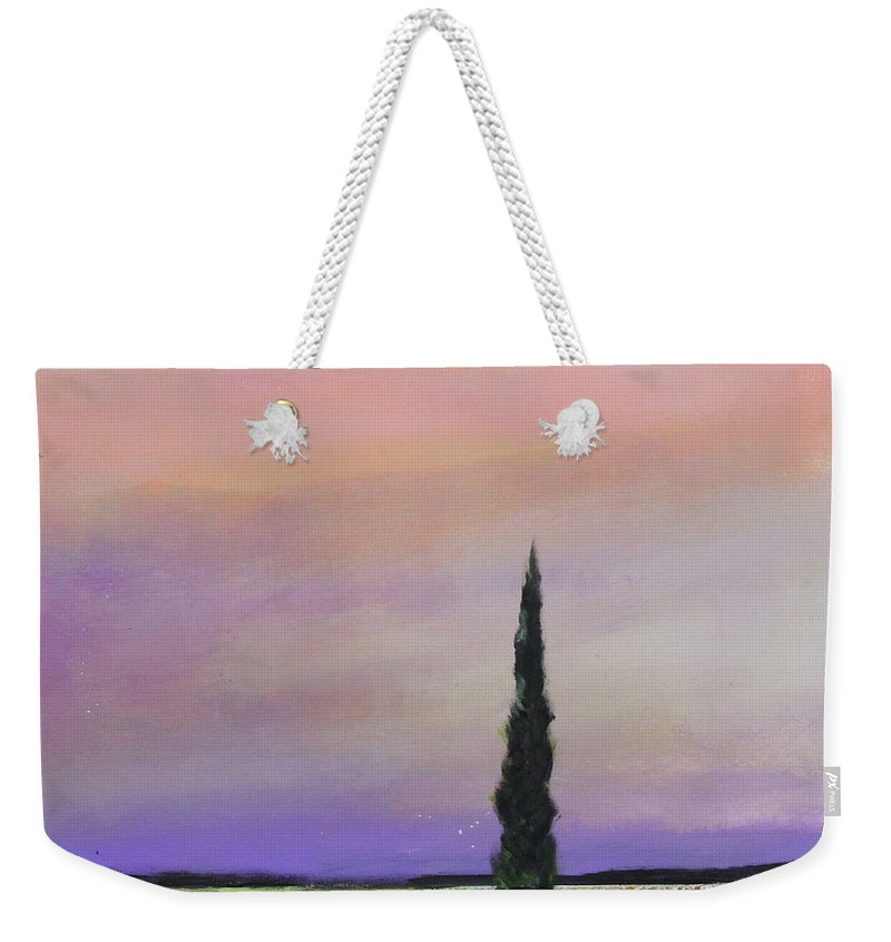 Tree Weekender Tote Bag featuring the painting Dawn Of A New Day by Toni Grote
