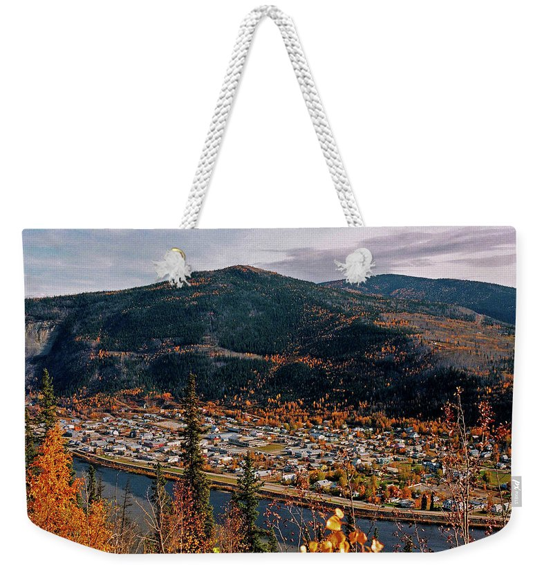 Canada Weekender Tote Bag featuring the photograph Dawson City - Yukon by Juergen Weiss