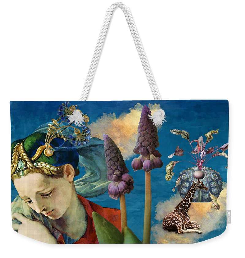 Dreamscape Weekender Tote Bag featuring the digital art Day Dreams by Laura Botsford