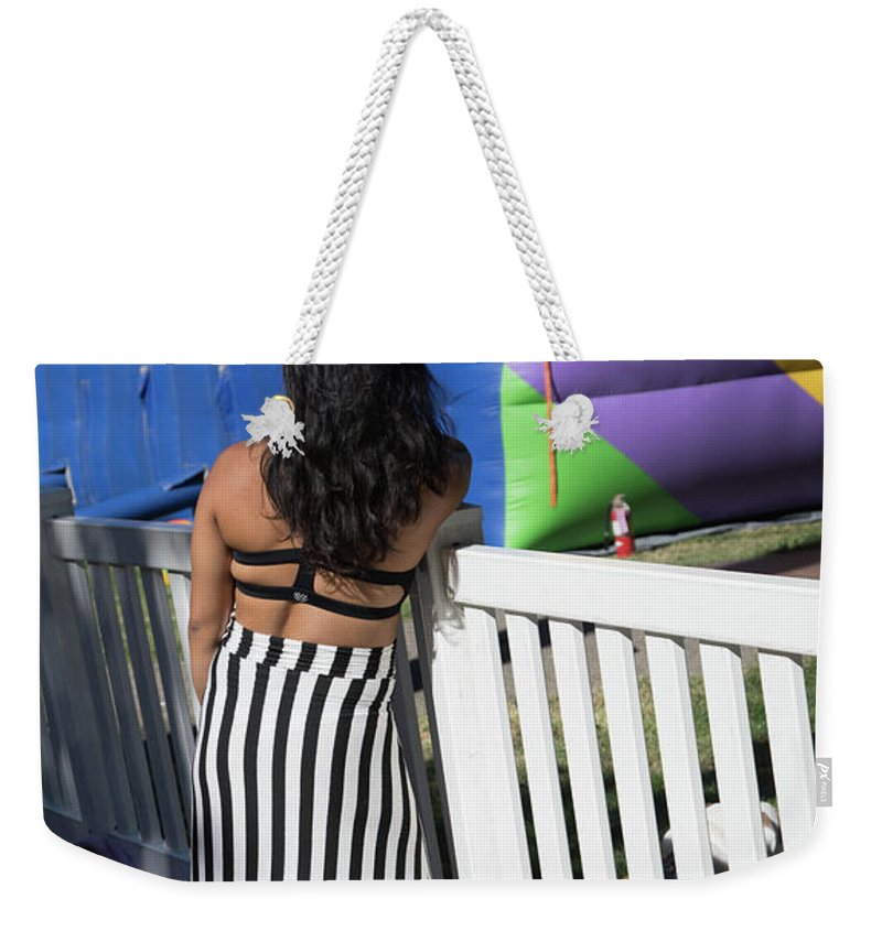 Dia De Los Muertos Weekender Tote Bag featuring the photograph Day Of The Dead End Of Day by Chuck Kuhn