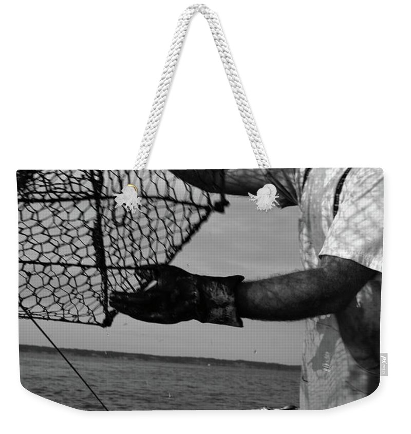 Crabs Weekender Tote Bag featuring the photograph Day On The Water by La Dolce Vita
