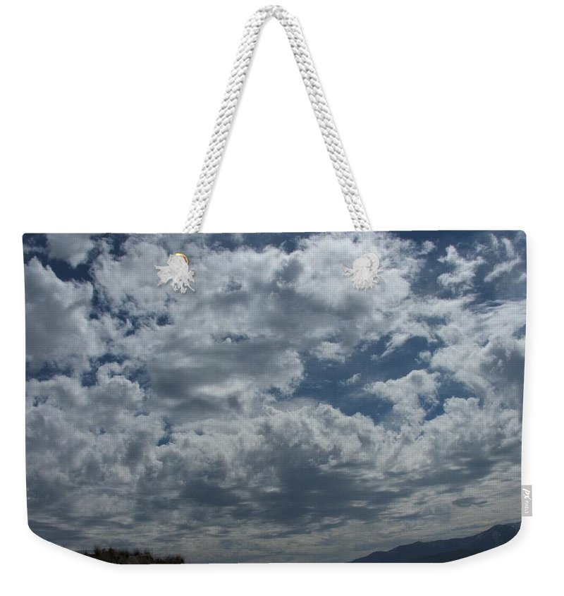 Clouds Weekender Tote Bag featuring the photograph Daydreaming by Shari Chavira