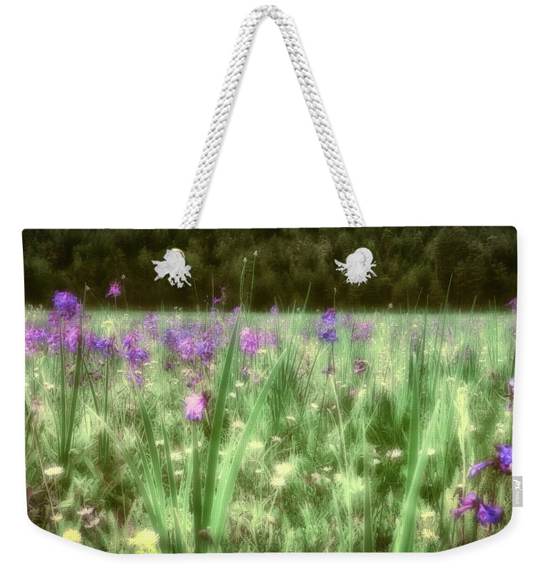 America Weekender Tote Bag featuring the photograph Daydreams In A Meadow by Rick Furmanek