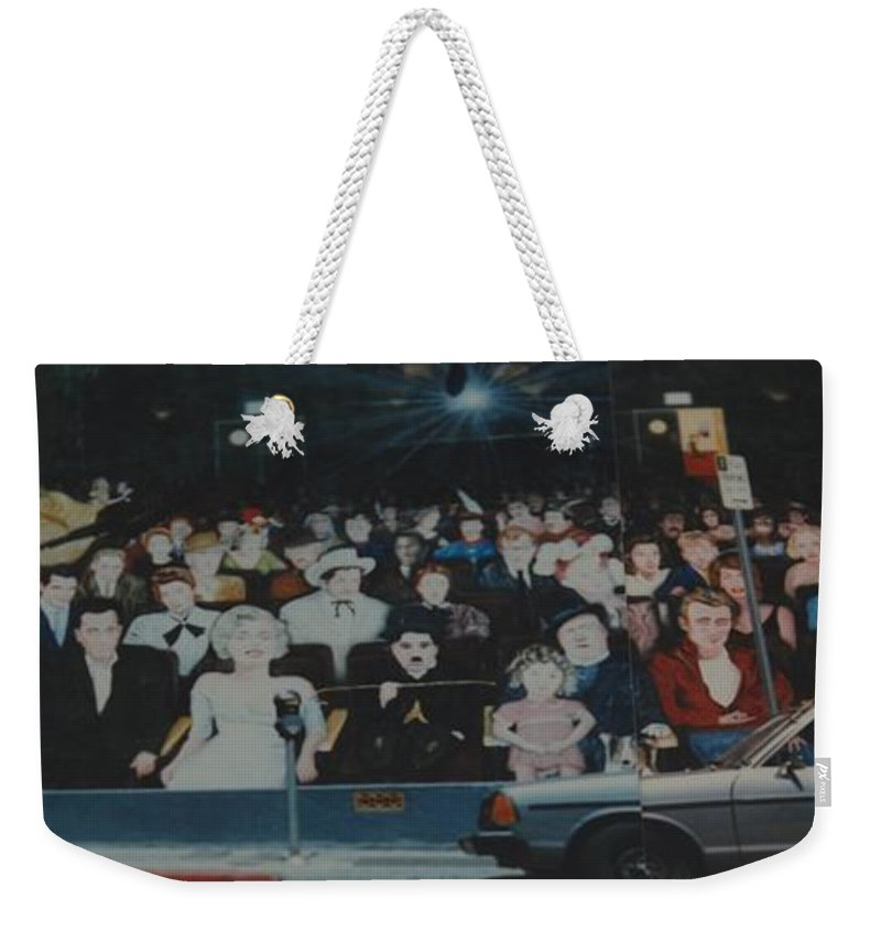 Movie Stars Weekender Tote Bag featuring the photograph Dead Stars by Rob Hans