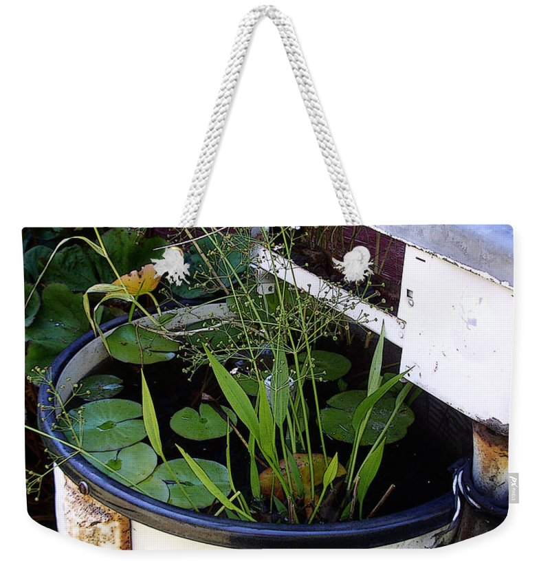 Wringer Weekender Tote Bag featuring the photograph Dead Wringer by Tim Nyberg
