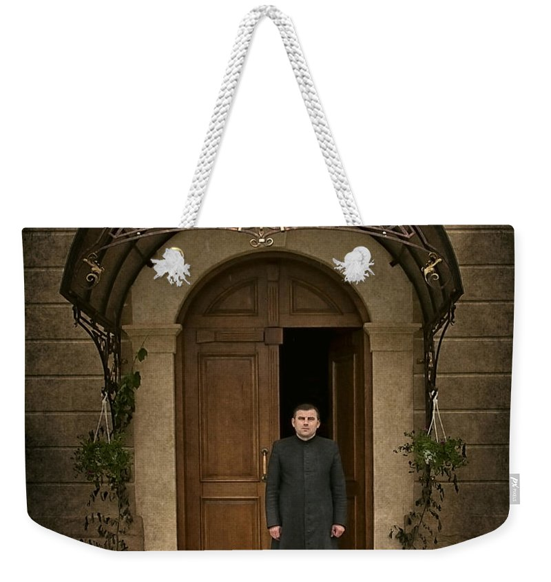 Father Weekender Tote Bag featuring the photograph Dear Father... by Evelina Kremsdorf