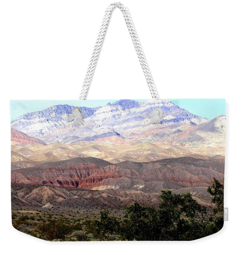 Death Valley Weekender Tote Bag featuring the photograph Death Valley 1 by Will Borden