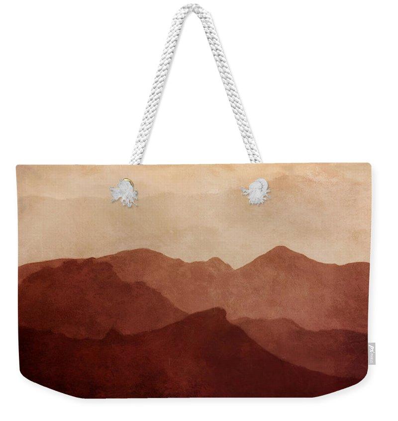 Death Valley Weekender Tote Bags
