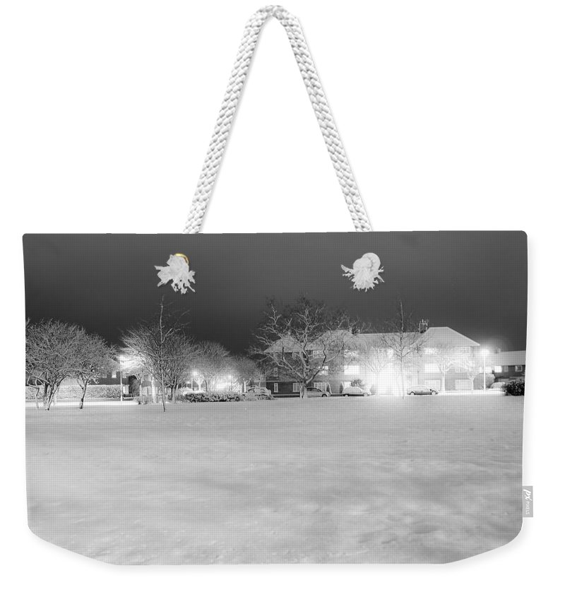 Winter Weekender Tote Bag featuring the photograph December Time by Svetlana Sewell