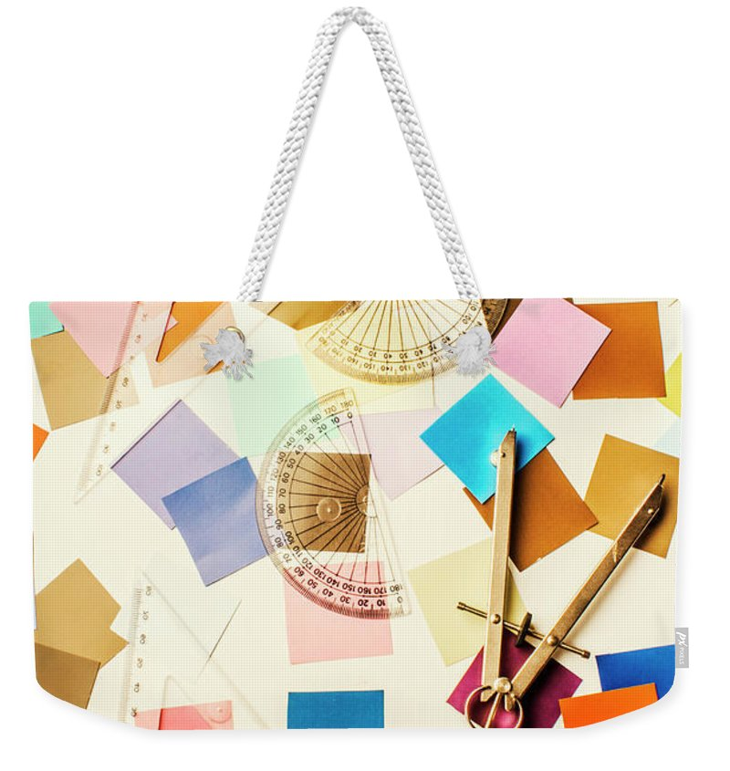 Design Weekender Tote Bag featuring the photograph Decoration In Symmetry by Jorgo Photography - Wall Art Gallery
