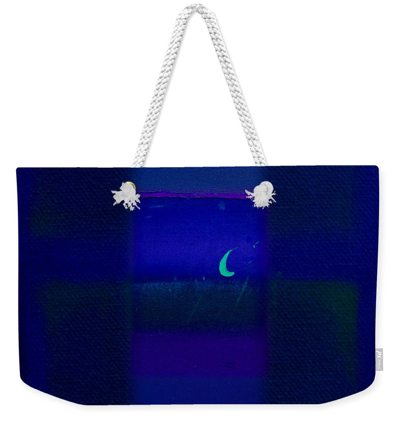 Rothko Weekender Tote Bag featuring the painting Deep Blue Sea by Charles Stuart