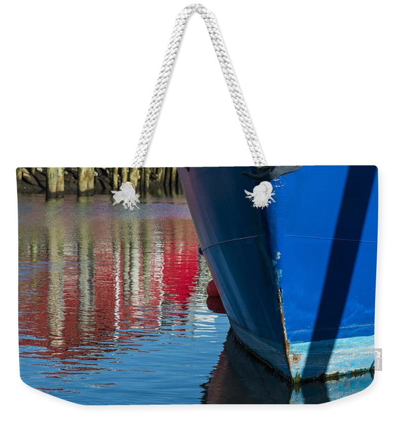 Boats Weekender Tote Bag featuring the photograph Deep Color by Robert Potts
