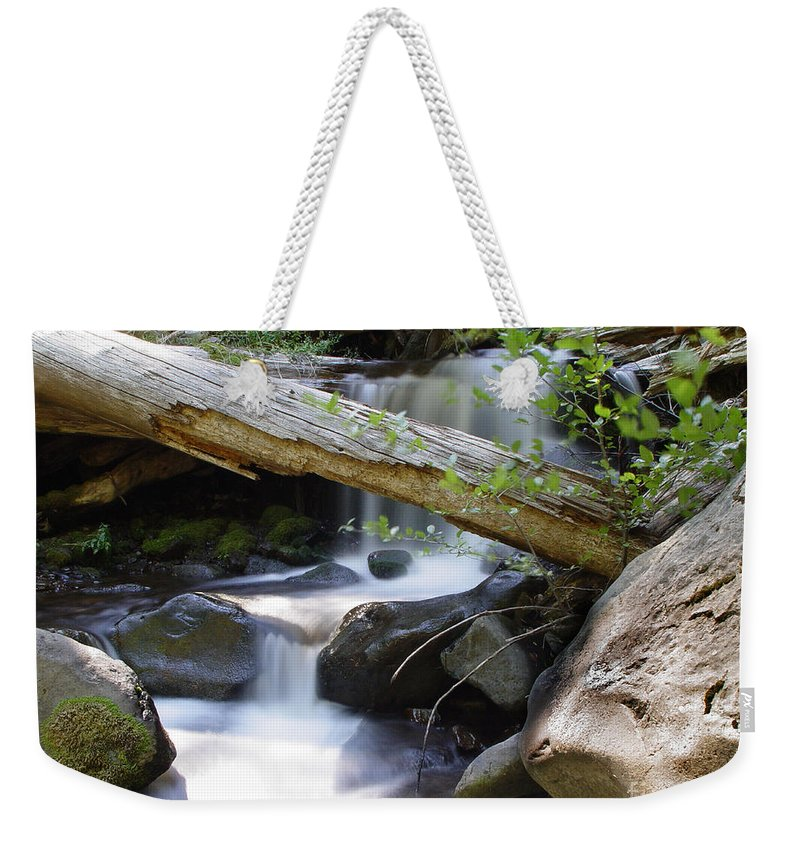 Creek Weekender Tote Bag featuring the photograph Deer Creek 03 by Peter Piatt