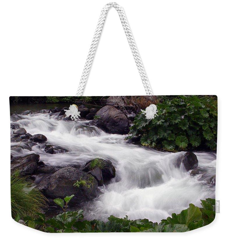 Creek Weekender Tote Bag featuring the photograph Deer Creek 07 by Peter Piatt
