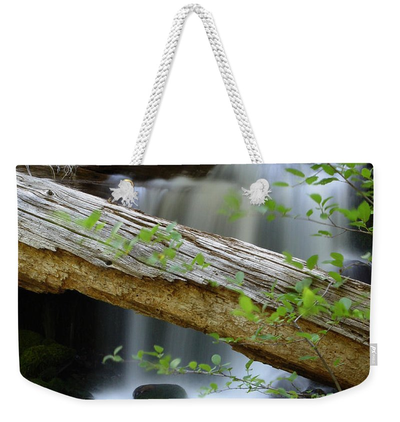 Creek Weekender Tote Bag featuring the photograph Deer Creek 13 by Peter Piatt