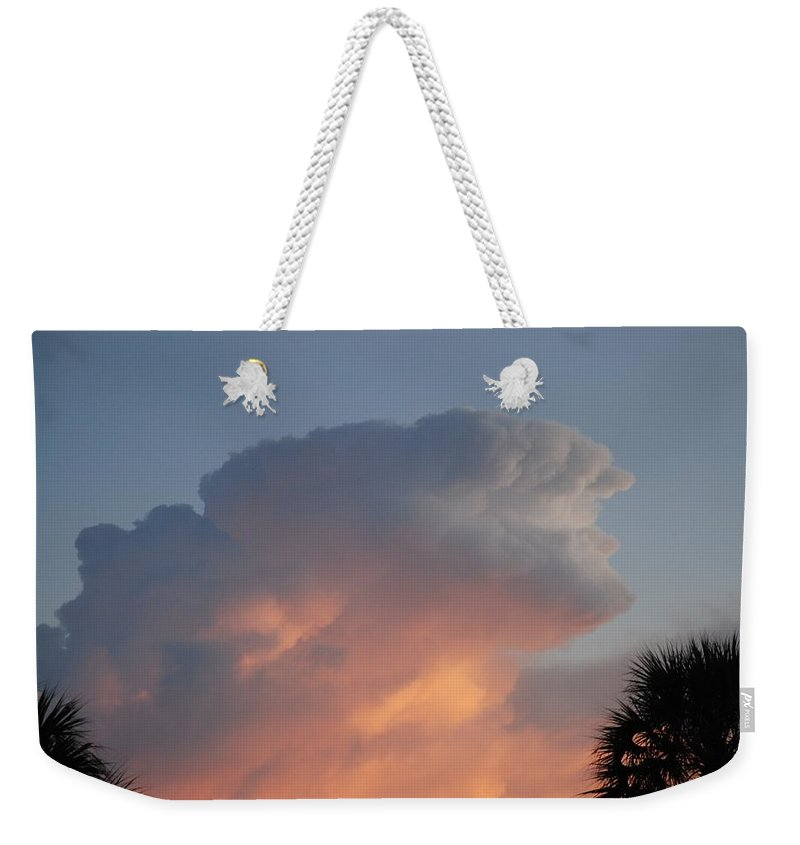 Sunset Weekender Tote Bag featuring the photograph Deerfield Sky by Rob Hans