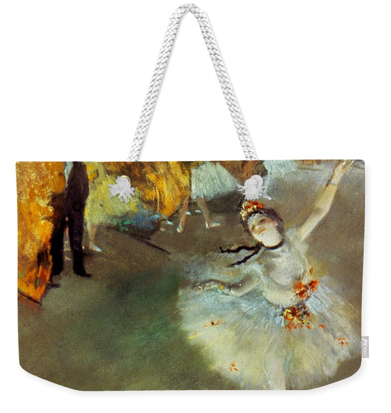 19th Century Weekender Tote Bag featuring the photograph Degas Star, 1876-77. To License For Professional Use Visit Granger.com by Granger