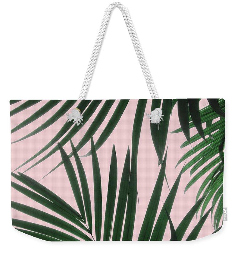 Greenery Weekender Tote Bags