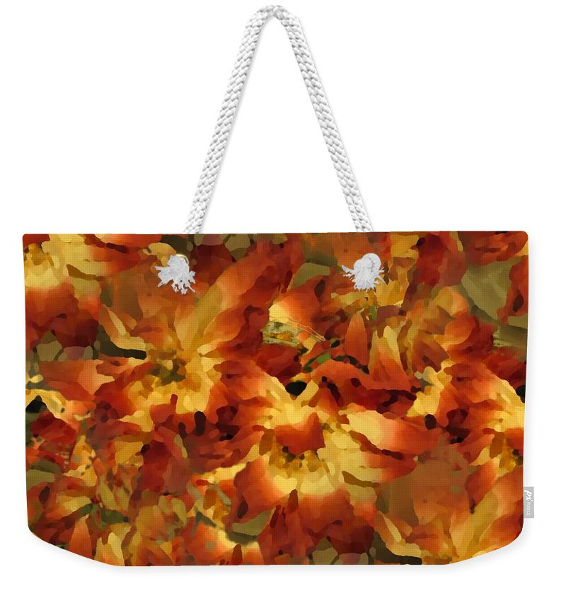 Flowers Weekender Tote Bag featuring the photograph Delightful by Tim Allen
