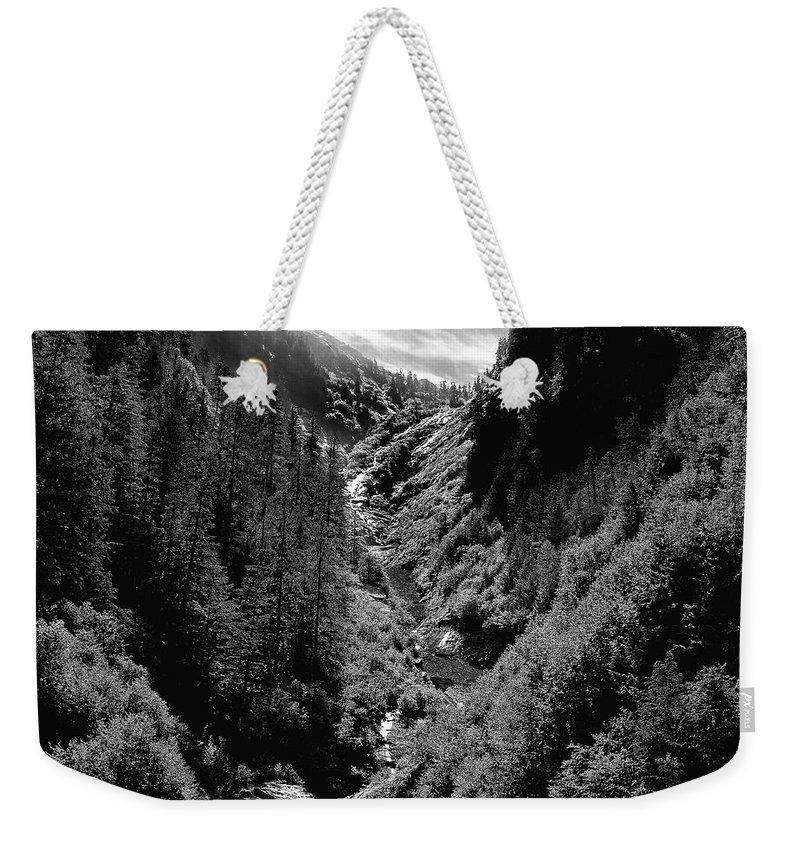 Alaska Weekender Tote Bag featuring the photograph Denali National Park 3 by Dick Goodman
