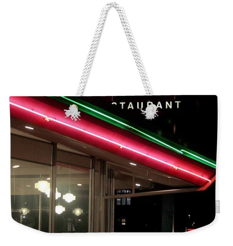 Denver Diner Weekender Tote Bag featuring the photograph Denver Diner by Jeffery Ball