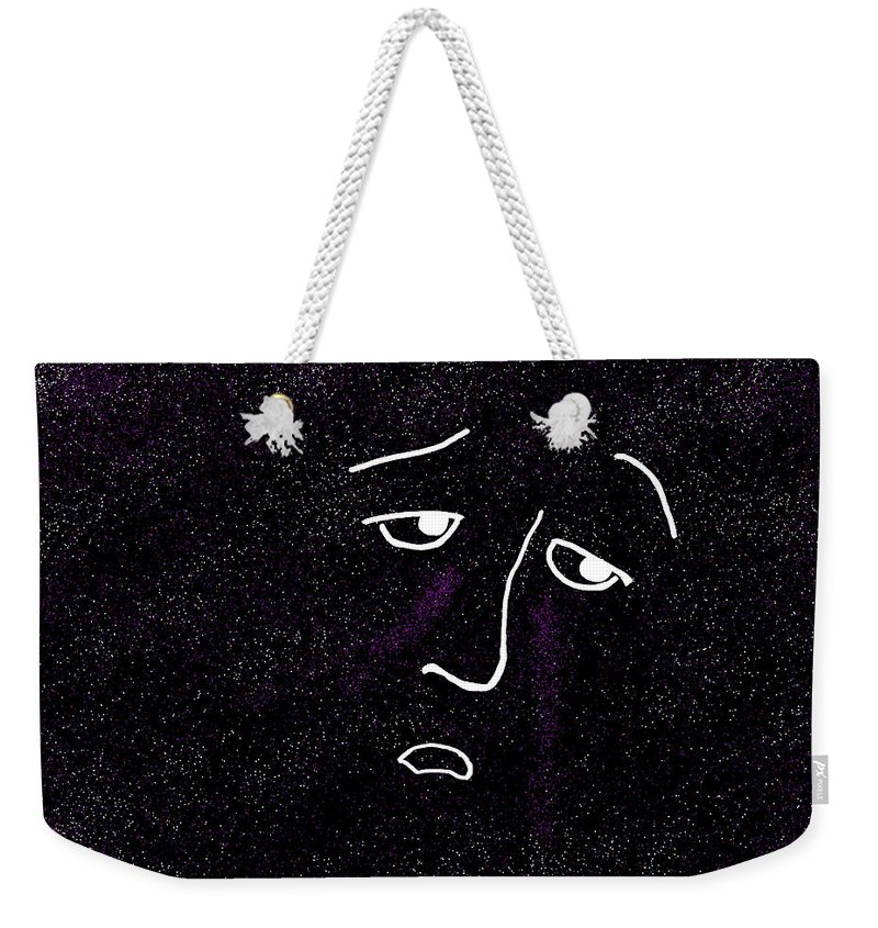 Depression Weekender Tote Bag featuring the digital art Depression by Methune Hively