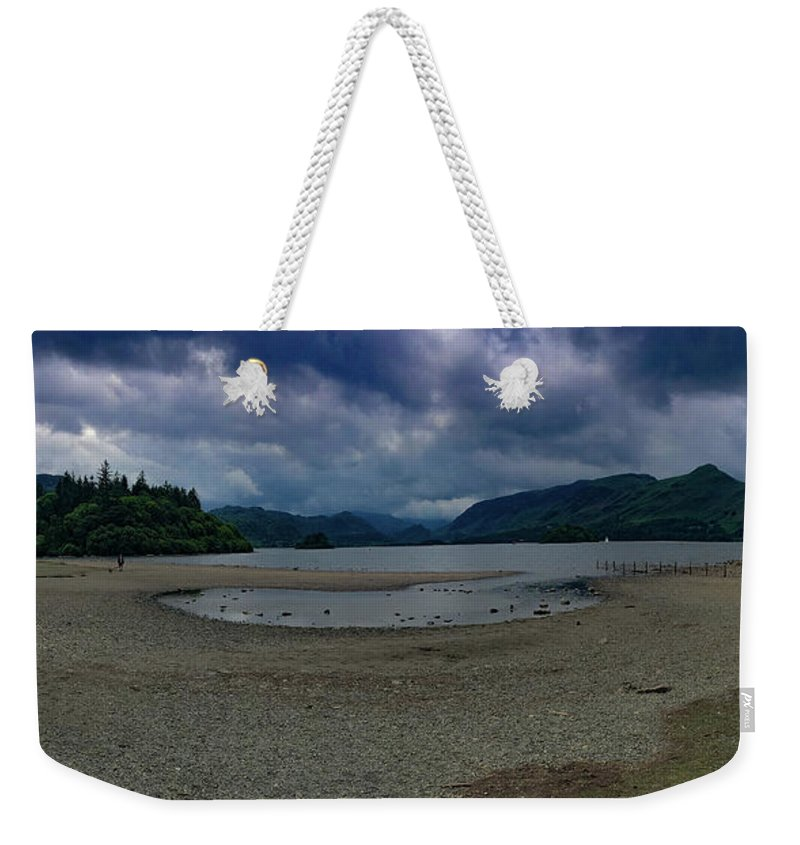 Lakes Weekender Tote Bag featuring the photograph Derwent Water by James Mellor