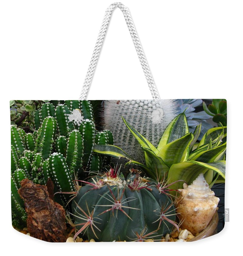 Art For The Wall...patzer Photography Weekender Tote Bag featuring the photograph Desert Art by Greg Patzer
