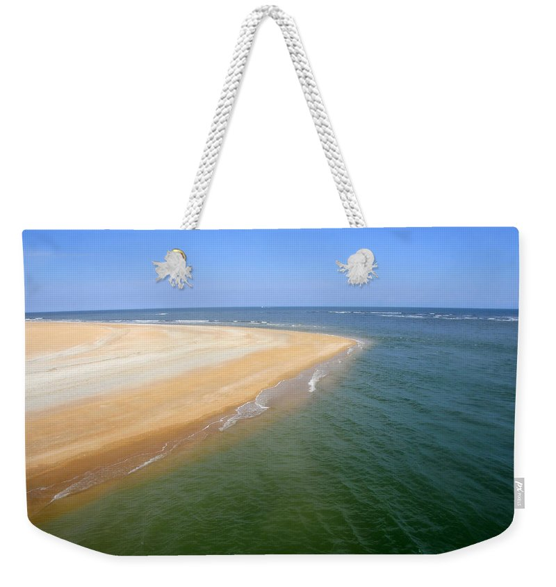Island Weekender Tote Bag featuring the photograph Desert Island by David Lee Thompson