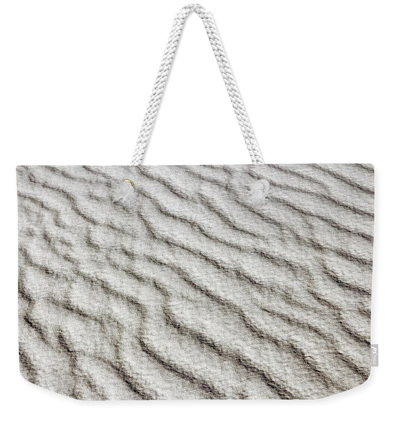 Desert Weekender Tote Bag featuring the photograph Desert Textures 1 by Nicholas Blackwell