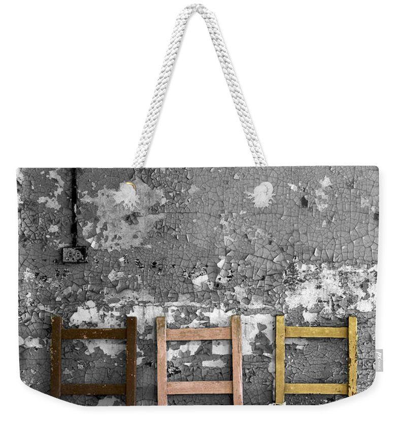 Abandoned Weekender Tote Bag featuring the photograph Desolate by Conor McLaughlin