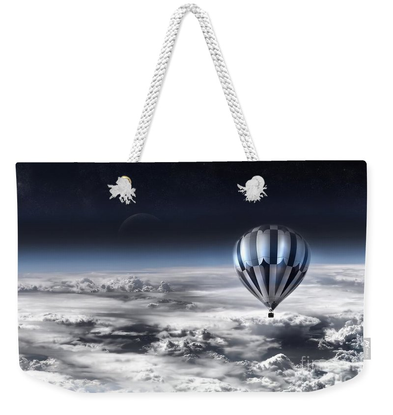Sky Weekender Tote Bag featuring the photograph Destiny by Jacky Gerritsen