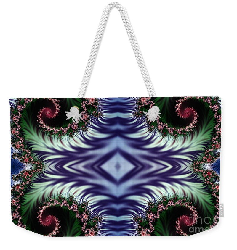 Clay Weekender Tote Bag featuring the digital art Diamonds Are Forever by Clayton Bruster