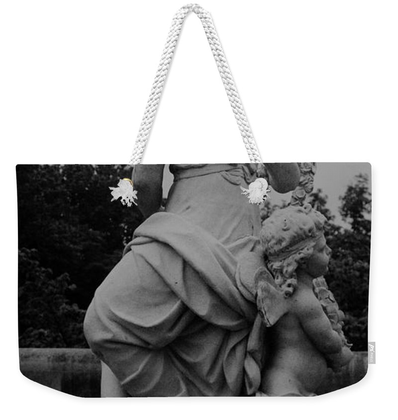 Figurative Weekender Tote Bag featuring the painting Diana by Eric Schiabor