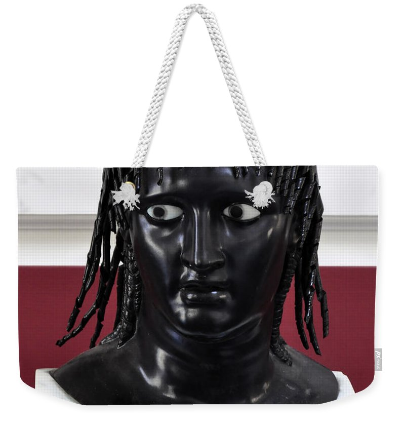 Clay Weekender Tote Bag featuring the photograph Did You See That by Clayton Bruster