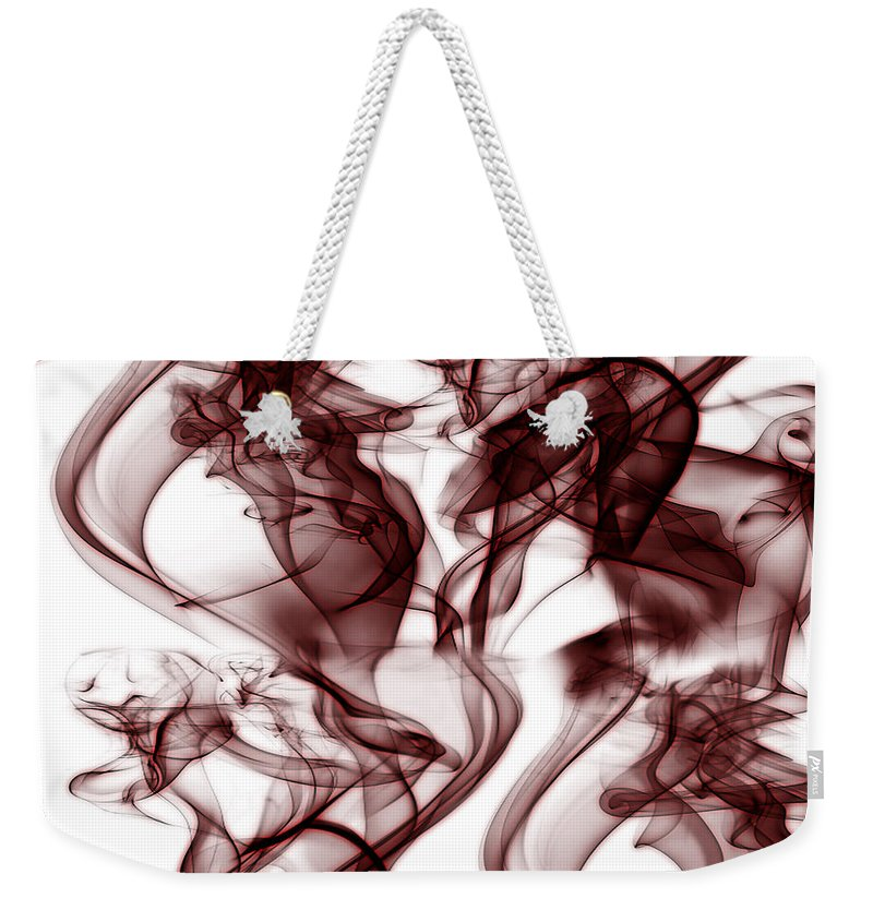 Clay Weekender Tote Bag featuring the digital art Dilusional by Clayton Bruster