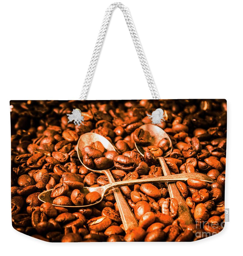 Food Weekender Tote Bag featuring the photograph Diner Beans by Jorgo Photography - Wall Art Gallery