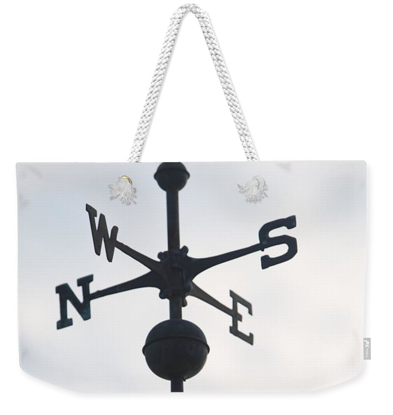 North Weekender Tote Bag featuring the photograph Directions by Nadine Rippelmeyer