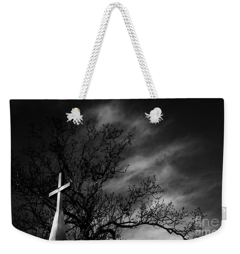 Disquiet Weekender Tote Bag featuring the photograph Disquiet by Amanda Barcon