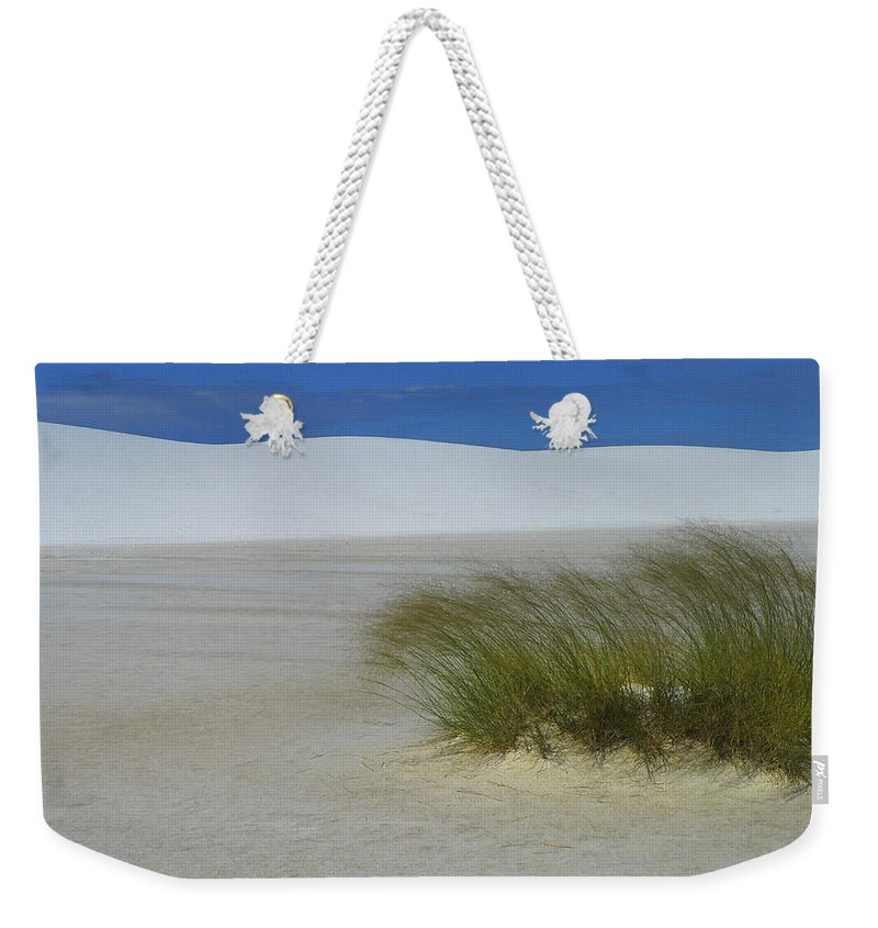 Dither Weekender Tote Bag featuring the photograph Dither by Skip Hunt
