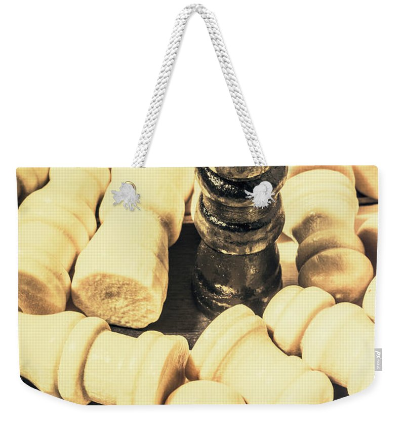 Dictator Weekender Tote Bag featuring the photograph Divide And Conquer by Jorgo Photography - Wall Art Gallery