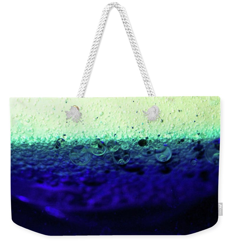 Abstract Weekender Tote Bag featuring the photograph Divine by Brandy Stinchcomb