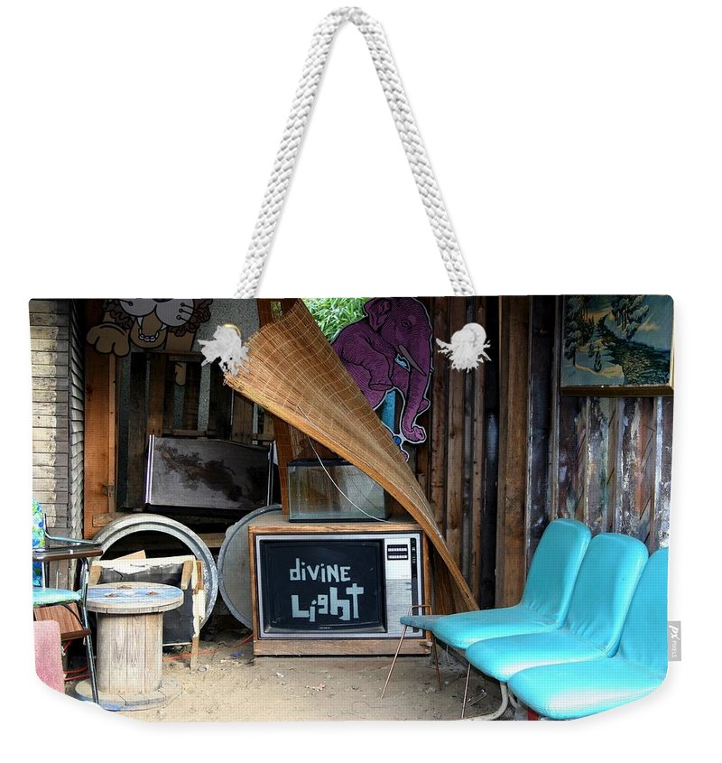 Divine Light Weekender Tote Bag featuring the photograph Divine Light by Minaz Jantz