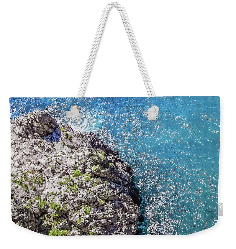 Diving Weekender Tote Bag featuring the photograph Diving In Italy by Scott Ricks