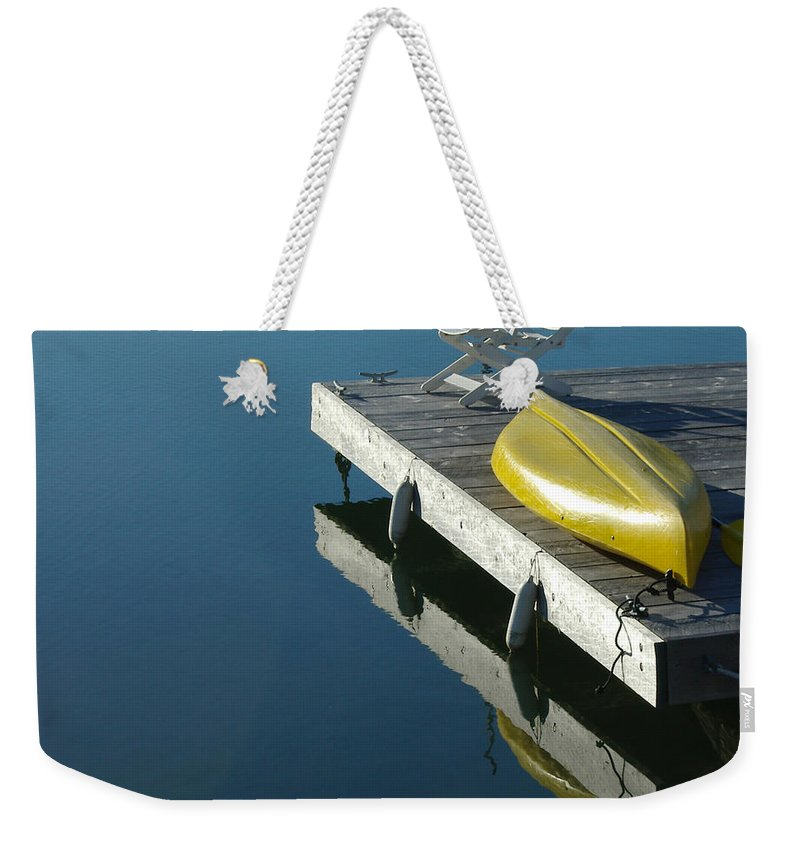 Landscape Nautical New England Kennebunkport Weekender Tote Bag featuring the photograph Dnre0609 by Henry Butz