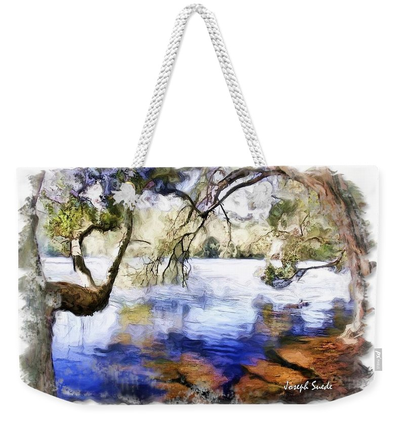 Trees Weekender Tote Bag featuring the photograph Do-00282 Cockrone Trees by Digital Oil
